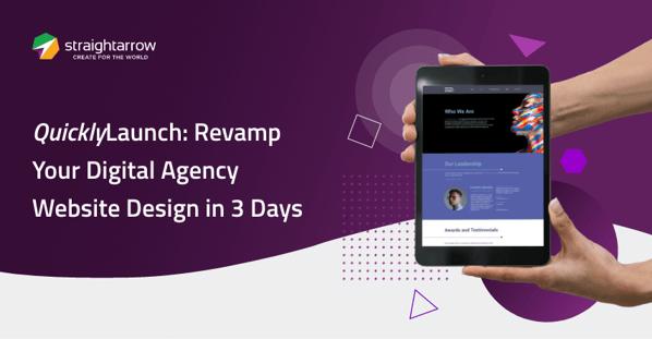 QuikLaunch: Revamp Your Digital Agency Website Design in 3 Days