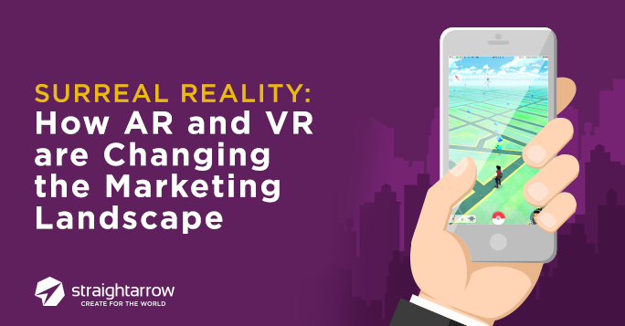 marketing landscape with AR and VR