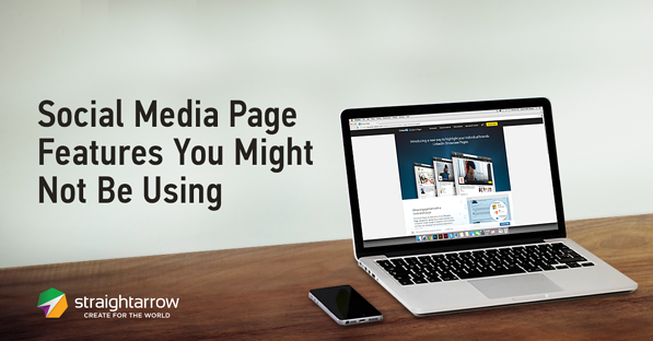social media page feature