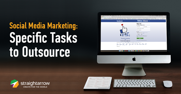 social media outsourcing task
