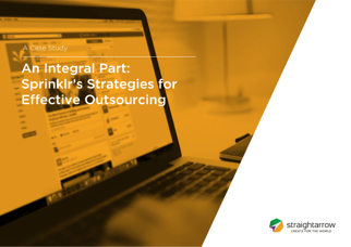2017 StraightArrow and Sprinklr Case Study