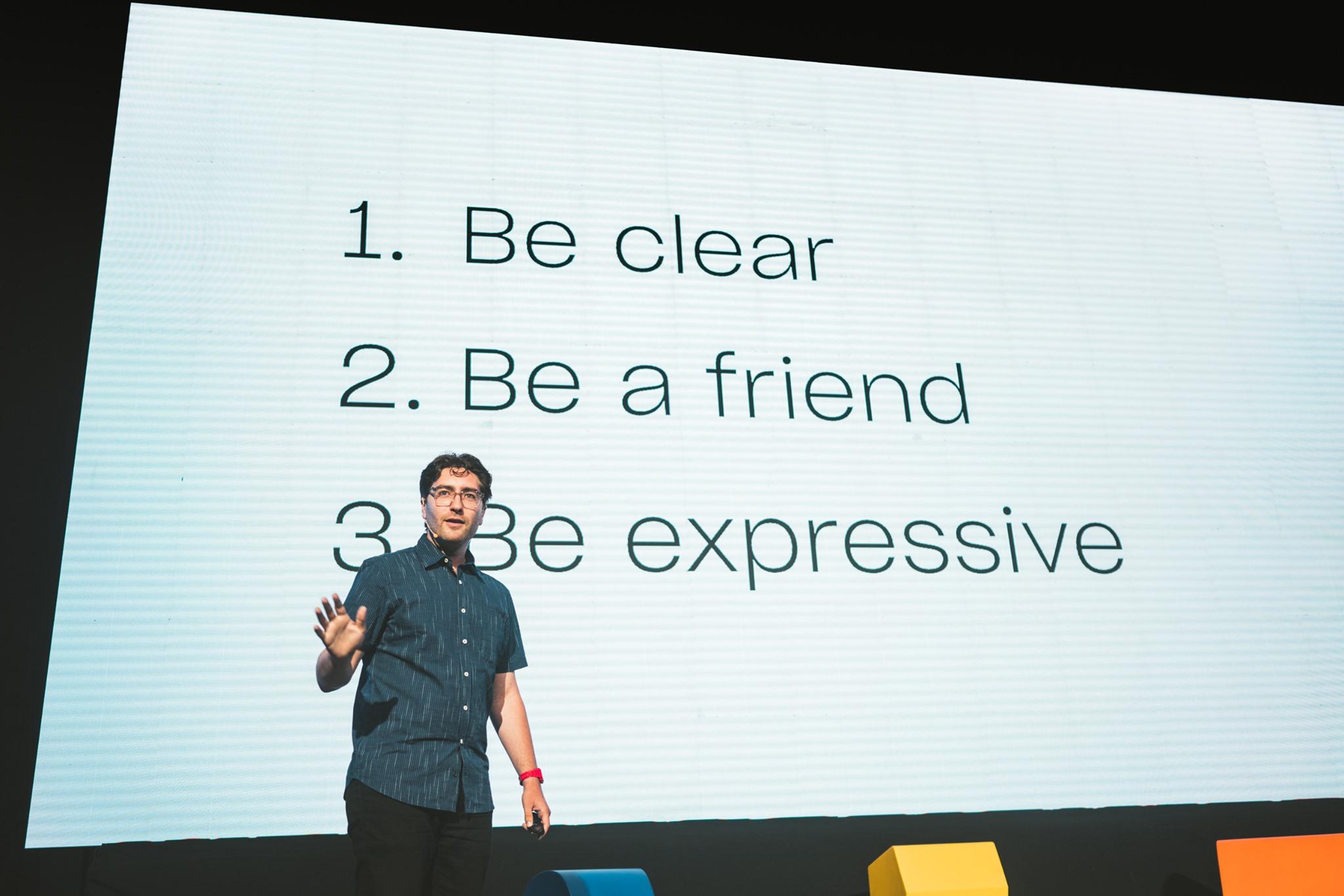 User Experience Conference UX 2019 - Benjamin Hersh - Digital Storytelling