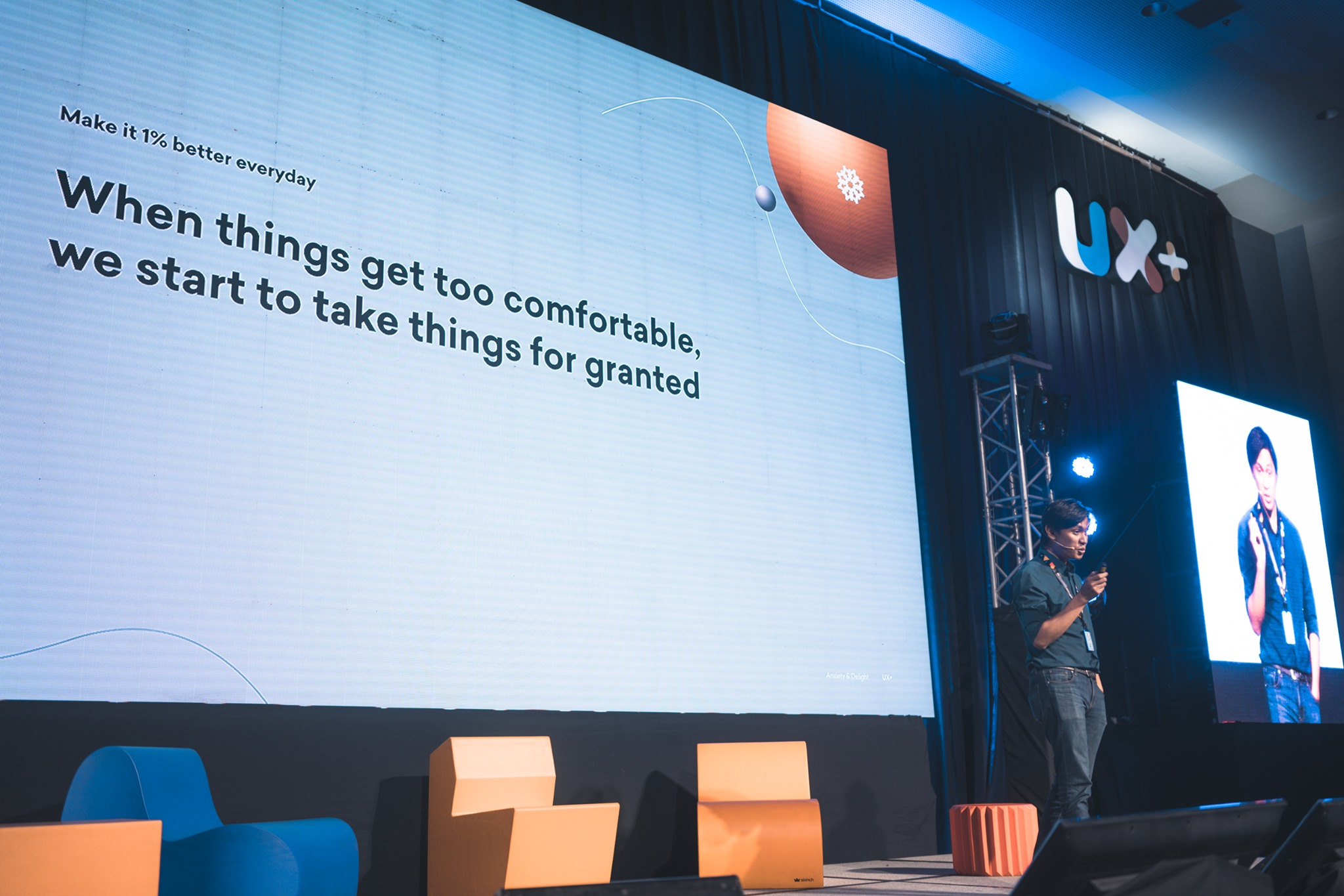 User Experience Conference - UX 2019 - JP De Guzman - Anxiety, Delight, and Hicks