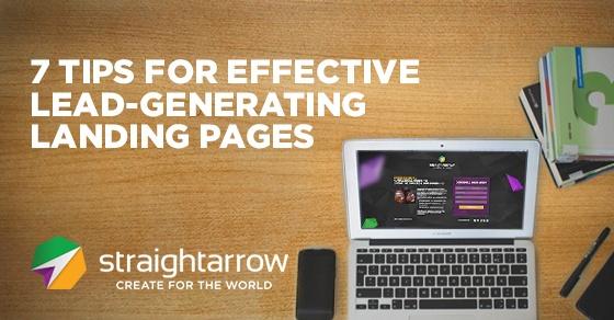 effective lead generation landing page