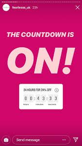 Instagram Brand Sticker Countdown 2