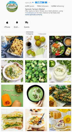 Sprouts Instagram Feed