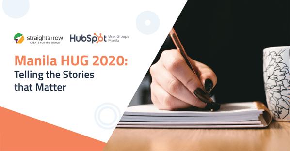 Manila HUG 2020: Telling the Stories that Matter