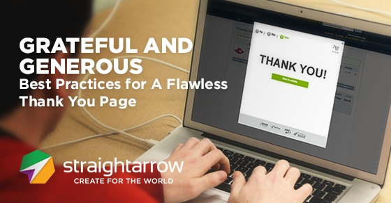 Thank You Page: best practice