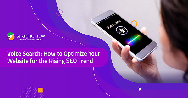 SEO Voice Search Blog Banner
