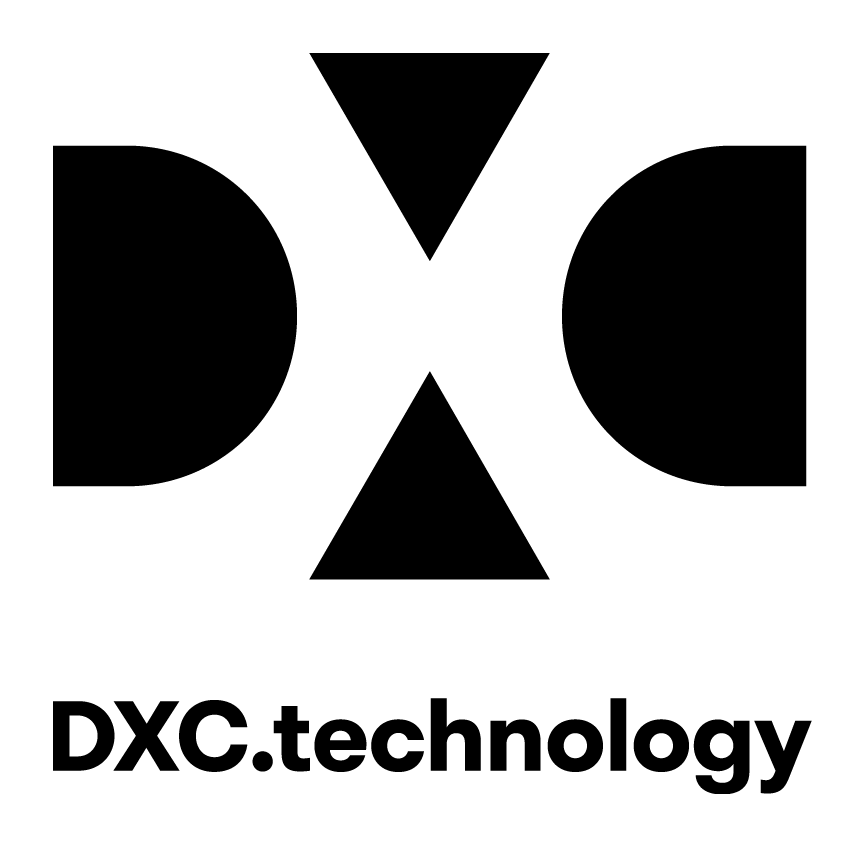 DXC logo name transparent