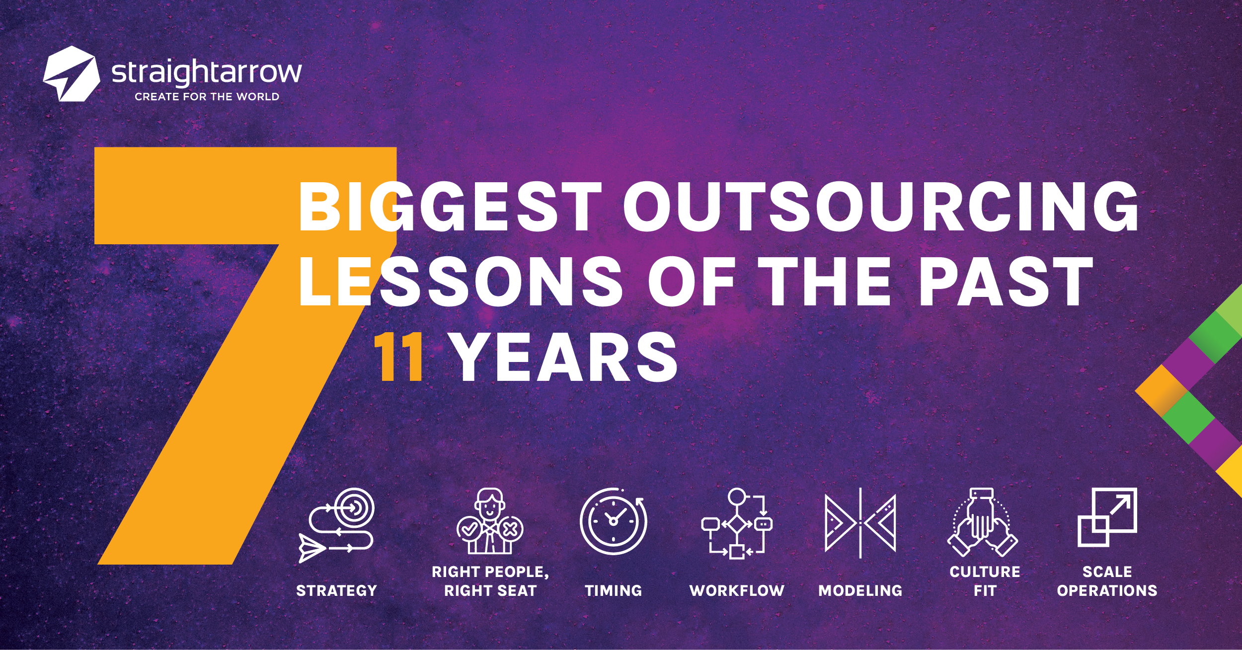 7 Biggest Outsourcing Lessons of the past 11 Years